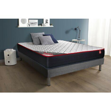 Pack Colchón VITALSPRING 150 x 190 cm + Somier multiláminas, Muelles ensacados, 3 zonas de confort