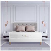 Colchón Buckingham 150 x 190 cm, Grosor: 30 cm, Espuma viscoelástica, Equilibrado, 7 zonas de confort