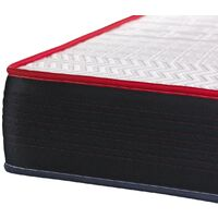 Pack Colchón VITALPOWER 150 x 190 cm + Somier multiláminas, Espuma viscoelástica, 5 zonas de confort