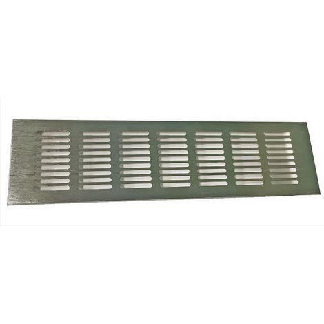 Rejilla de Ventilación de Aluminio K para Aire acondicionado. | 80 / 250 mm