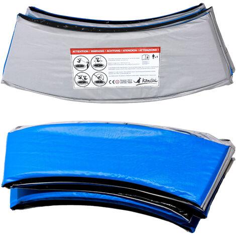 Kangui - Coussin PVC de protection pour trampoline Ø 430 cm - Bleu