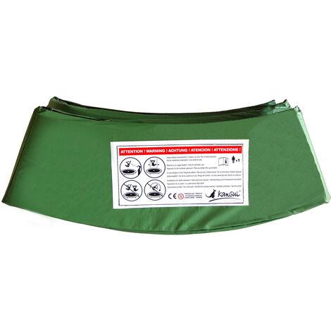 Kangui - Coussin PVC de protection pour trampoline Ø 430 cm - Vert