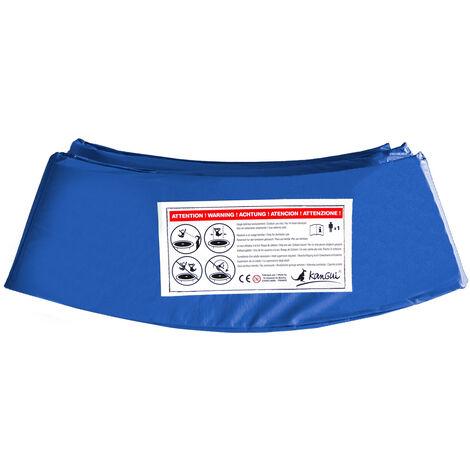 Kangui - Coussin de protection Ø430cm bleu pour trampoline - Bleu