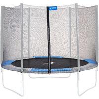 Kangui - Filet de sécurité Ø 300cm trampoline RALLI - Noir