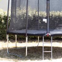 Bâche de protection Ø300cm adaptable à tous trampolines de diamètre 300 cm - Noir