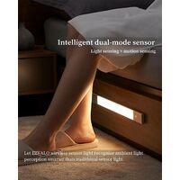 Lampe Placard LED Detecteur EZVALO Lampe Rechargeable 60cm Reglette Sans Fil, pour Armoire Couloir Veilleuse Bureau Chambre d'enfants, Blanc Neutre 4000K [Classe énergétique A++]