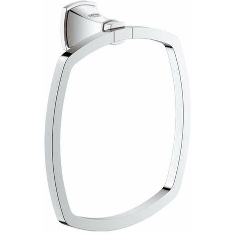 Grohe Grandera anneau porte-serviettes, Coloris: Chrome / Or - 40630IG0