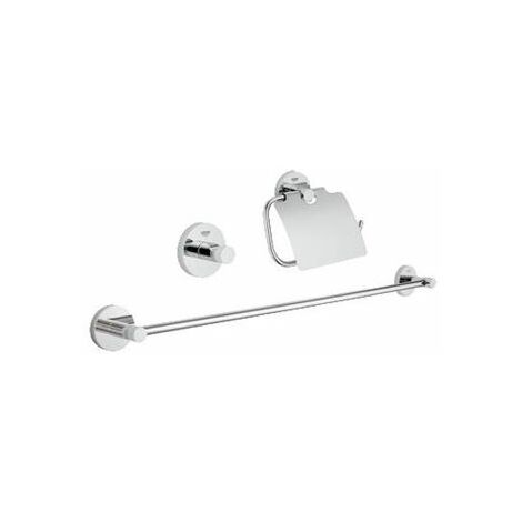Grohe Essentials set de bain 3 en 1 chrome - 40775001
