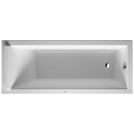 Baignoire Alverana En Acier Emaille 120 130 140 150 160 170x70 Cm Dimensions 120cm Fond Anti Derapant Sans Noir Mp S30000757000000ahd