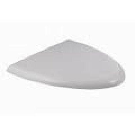 Couvercle d'urinoir Duravit Charnières Fizz en acier inoxydable, blanc, avec mécanisme de fermeture en douceur - 0061390000