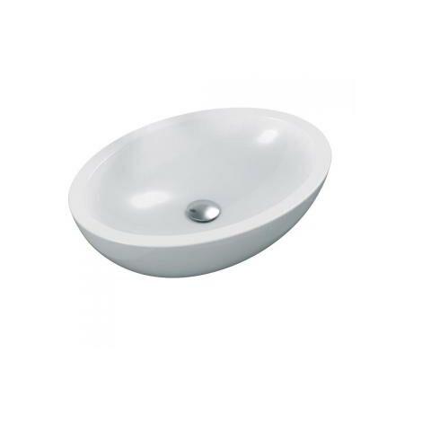 Ideal Standard Bol Strada O ovale 600mm K0784, Coloris: Blanc - K078401