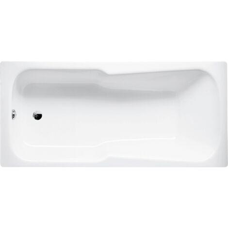 Ensemble de lit baignoire, 165 x 75 x 38 cm, Coloris: Blanc - 3560-000