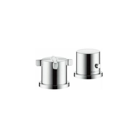 Hansgrohe Axor Citterio E Llanta de bañera de 2 orificios con termostato - 36412000