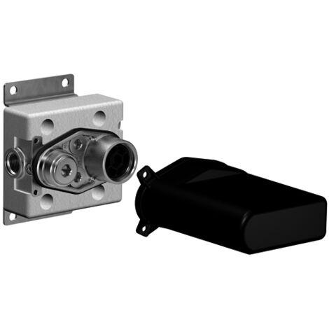 Dornbracht xGate Válvula mezcladora con control de caudal, para montaje en pared, kit prefabricado, 35691970 - 3569197090