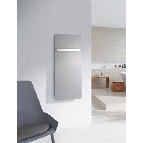 "Zehnder vitalo Radiador de diseño VIP-125-060, 1250x600 mm, diseño ""bar"", con conexión central, radiadores para baños: Blanco RAL 9016 - ZV101260B100000"