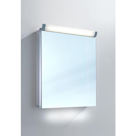 Armario con espejos Schneider PALILine 60 / 1 / LED 159.060, cumplimiento: CH estándar sin asas - 159.060.01.50
