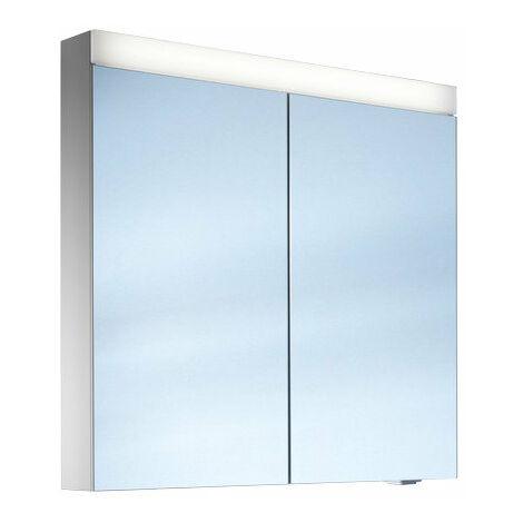 Armario con espejos Schneider PATALine, 161.061, 60/2/LED, cumplimiento: CH estándar sin asas - 161.061.01.02