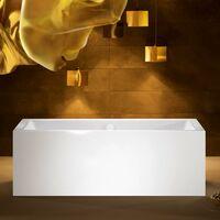 Kaldewei Meisterstück Conoduo, bañera independiente, 1732, 170x75x43 cm, blanco alpino, cumplimiento: Racor de desagüe y rebose con función de llenado integrada 4081 - 200640813001