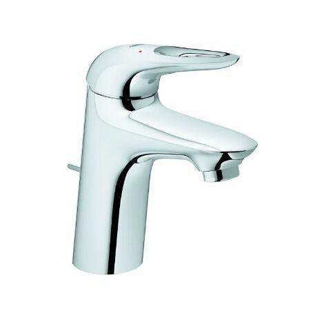 Miscelatore monocomando per lavabo Grohe Eurostyle, dimensione S con scarico, maniglia a leva aperta, colorazione: cromo - 33558003