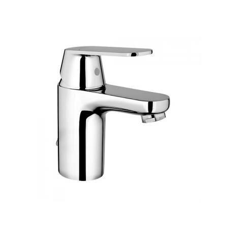 Grohe Eurosmart Cosmopolitan Miscelatore monocomando lavabo, dimensione S senza scarico, EcoJoy con catena a scomparsa - 3282700E