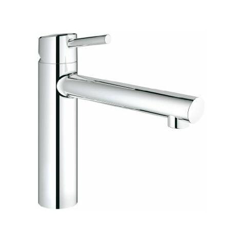 Miscelatore monocomando per lavabo Grohe Concetto per installazione prefinestra - 31210001