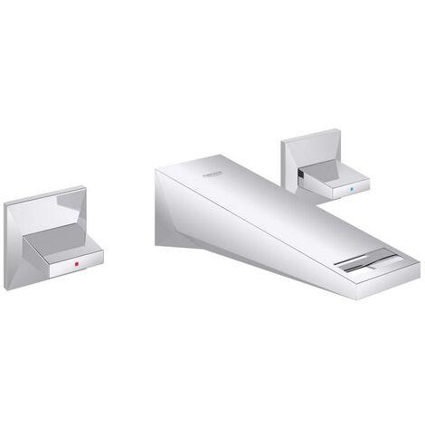 Miscelatore a parete per lavabo Grohe Allure Brilliant 3 fori, sporgenza 210mm - 20348000