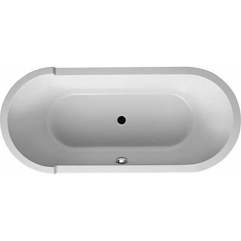 Duravit Whirlpool Oval Starck 1800x800 mm Freestanding Airsystem Oval Starck 1800x800mm - 760010000AS0000