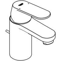 Grohe Eurosmart Cosmopolitan Miscelatore monocomando lavabo, dimensione S con scarico, EcoJoy - 3282500E