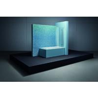 Comodino vasca Ocean 170x70 cm, 8853, frontale a sfioro, bianco, colorazione: Bianco - 8853-000