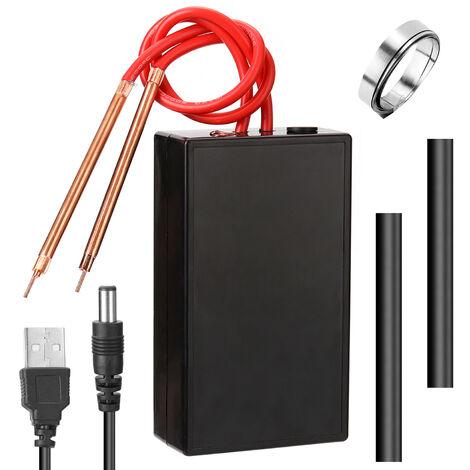 Bricolage stockage d'energie mini machine de soudage par points tactile 18650 reparation et assemblage de batterie au lithium