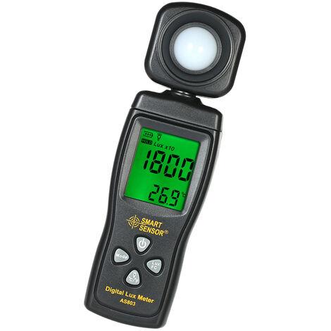Xima mini illuminance metre, illuminance metre integre, lumen metre livre sans batterie AS803