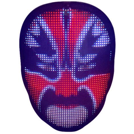 Masque de changement de visage SL016 (rechargeable avec batterie integree)