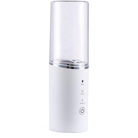 Brosse a dents electrique sterilisateur UV, desinfection, sechage, stockage et chargement, blanc (alimente par USB)