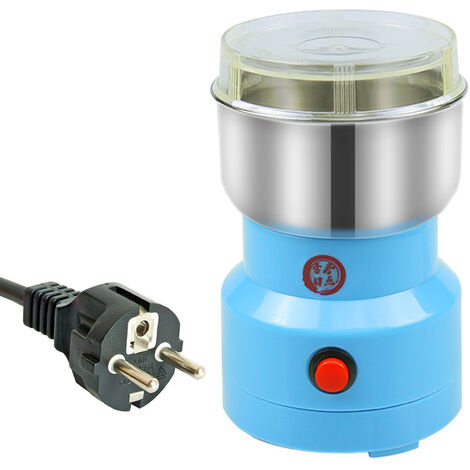 Broyeur electrique menage petit moulin a grains de cafebroyage a sec EU 220V