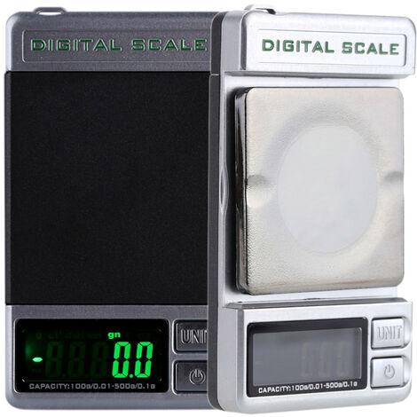 Balance de poche double precision 500g / 0,1g 100g / 0,01g DS-28 expediee sans batterie