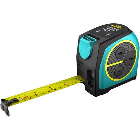 Maice deux-en-un ruban a mesurer telemetre laser instrument de mesure infrarouge au lithium outil de mesure DT10 40 metres batterie au lithium integree