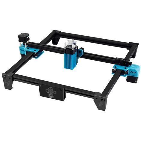 Machine de gravure laser en alliage d'aluminium Totem S 40W 30 ¡Á 30cm grand etabli en plastique bois machine de gravure en acier inoxydable norme europeenne