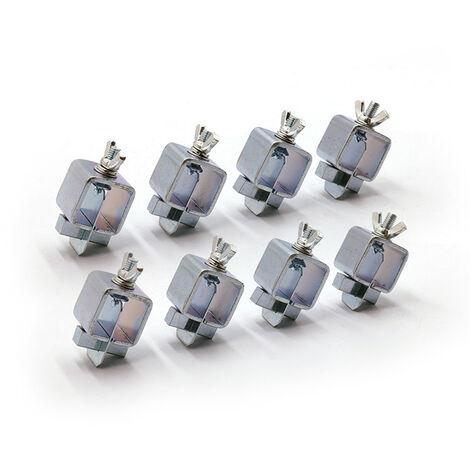 8 pieces de soudage electrique papillon clip de soudage positionneur de soudage veste de soudage positionneur d'alignement de tole