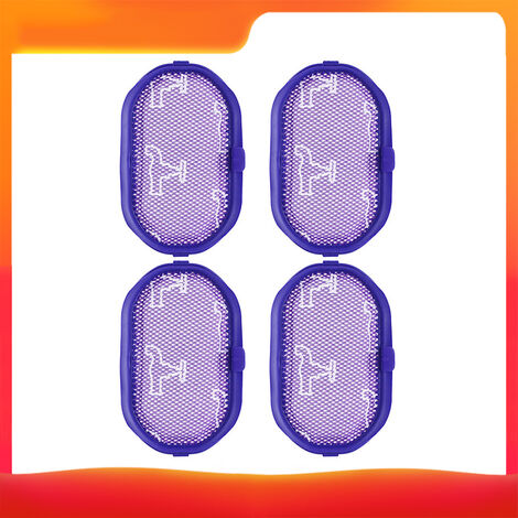 Ensemble de quatre accessoires pour aspirateur Dyson (filtre 4 *) adapte aux modeles DC30 / DC31 / DC34 / DC35 / DC44, portable
