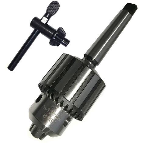 Mandrin de forage 5 / 64-1 / 2 pouces 0.5-13mm mandrin de forage mini tour MT2 avec cle
