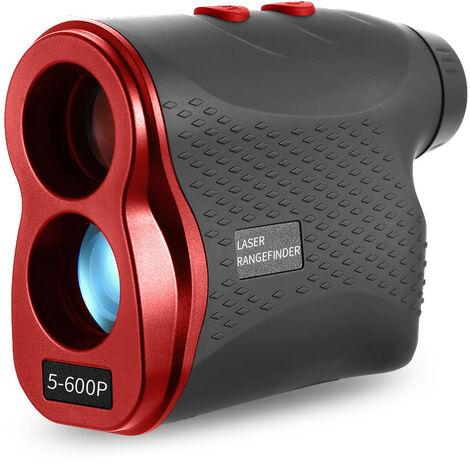 Telemetre telemetrique laser de golf 5-600P, rouge 600m