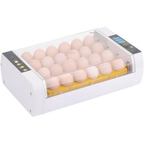 24 pieces d'incubateur d'incubateur intelligent automatique petit incubateur domestique 220V norme europeenne