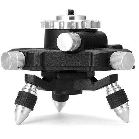 """Niveau laser, base de trepied Support rotatif a 360 ¡ã avec interface 1/4"""""""