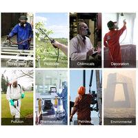 Masque anti-poussiere en trois pieces 3M 3200 demi-masque anti-poussiere + coton filtre 3701 * 10 + couvercle en coton filtre 3700 * 1