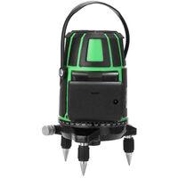 Jeu de niveau laser vert 3 lignes, EU 220V