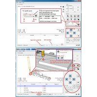 Mini machine de gravure CNC deux-en-un laser et commande de moteur CNC3018 avec mandrin de moteur ER11 + lunettes + prise EU, tete laser 2500mW