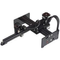 Machine de gravure laser KKmoon Machine de gravure en porte-a-faux 7000mW Support de gravure sur metal Master 7W Petite norme europeenne (avec carton d'emballage exterieur)