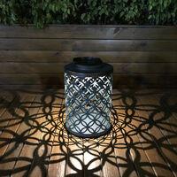 Suspension solaire Tomshine, motif piece de monnaie en cuivre
