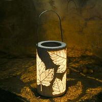 Suspension solaire Tomshine, motif feuille d'erable