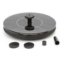Fontaine flottante miniature de jardin a eau solaire au mercure D160